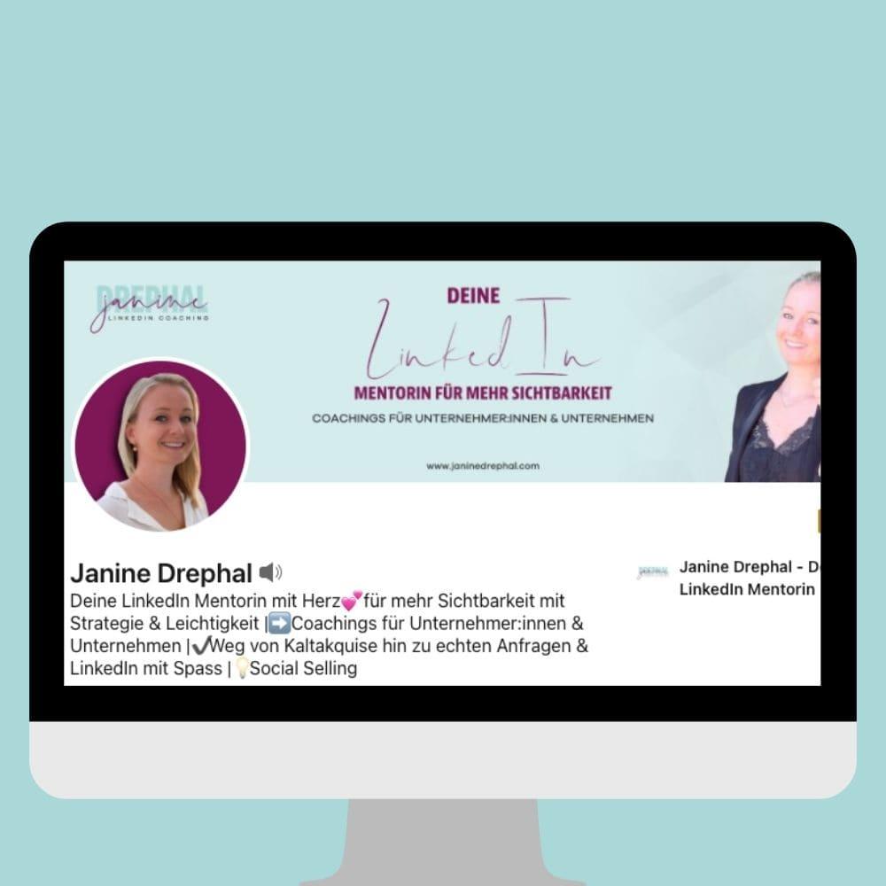 Janine Drephal LinkedIn Coach